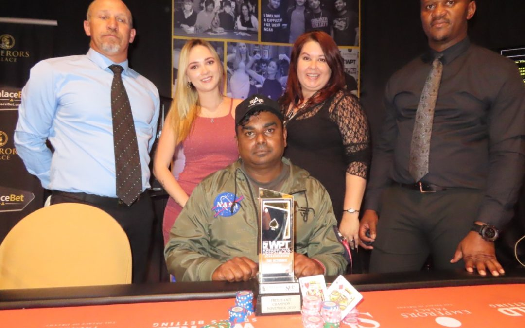 Ivan Pakkiri is the Champion of the WPT Deepstacks Freeze-Out!!