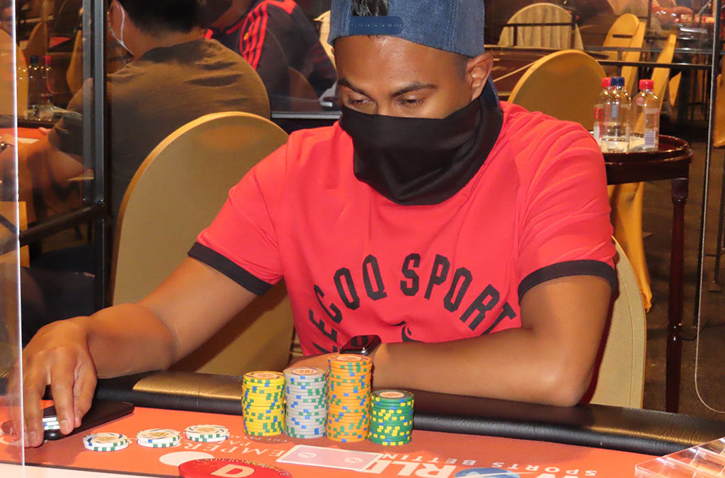 Jubal Chetty Eliminated in 3rd place