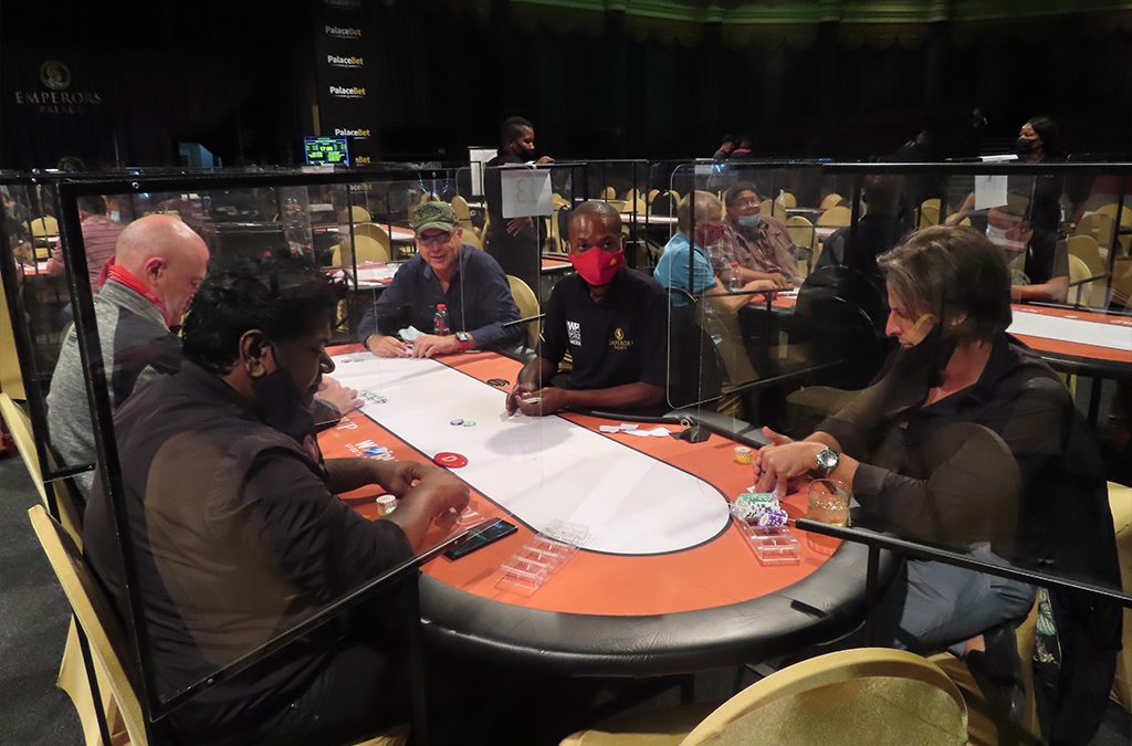 WPT Deepstack 4 Card Pot Limit Omaha in full swing