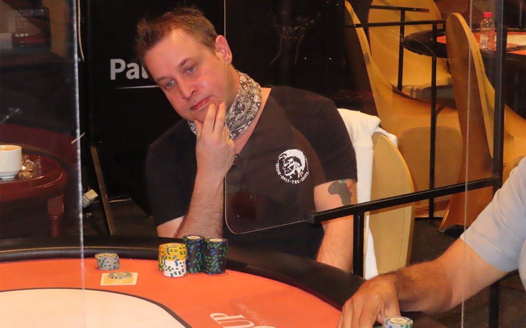 David wins a pot against Wesley Wiegand