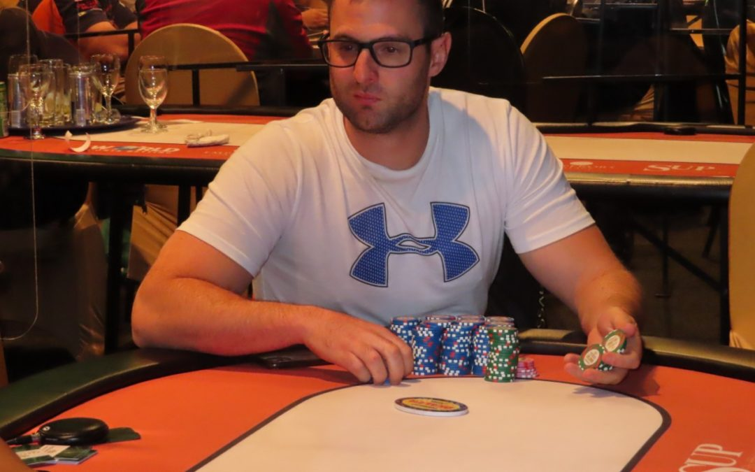 Congratulations to Wesley Wiegand on finishing in 2nd place in the WPT Deepstacks High Roller!!!