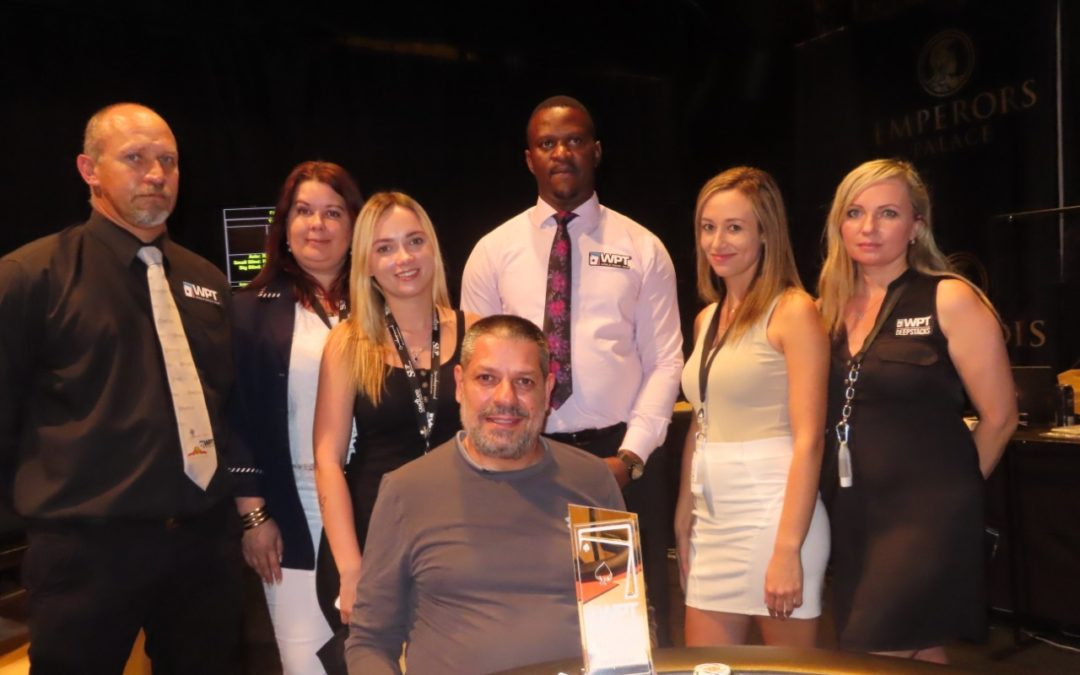 Nic Ioannoy is the new WPT Deepstacks Super High Roller Champion